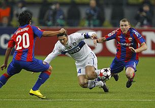Все четыре матча ЦСКА против «Интера» в Лиге чемпионов закончились поражениями армейцев.