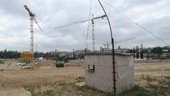 Стройка армейского стадиона
