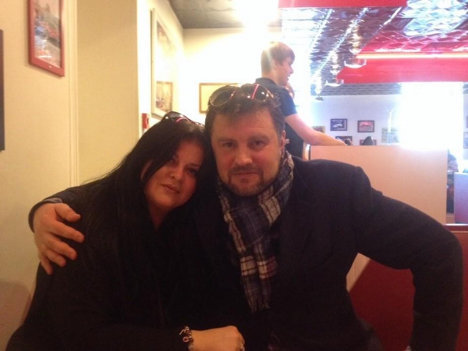 Сергей Шустиков с женой