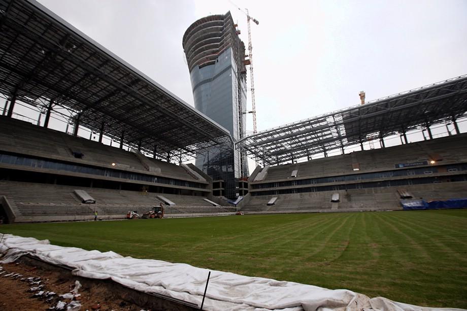 Стадион ЦСКА, ЕР